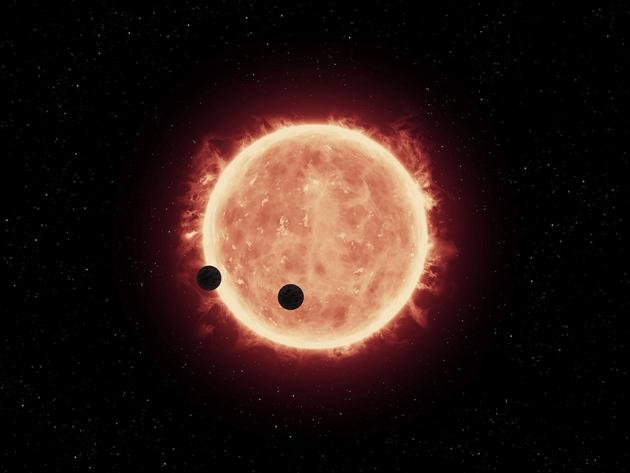 NASA обнаружило семь планет запределами Солнечной системы