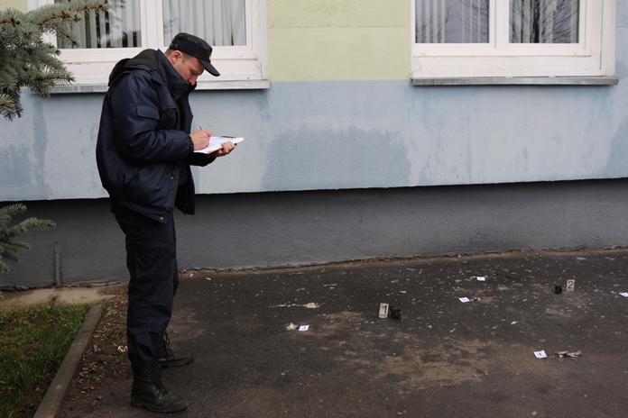 В здание гомельской налоговой инспекции бросили коктейль Молотова Фото: sk.gov.by