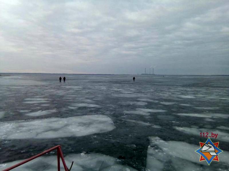 Озеро, на котором провалились мужчины.