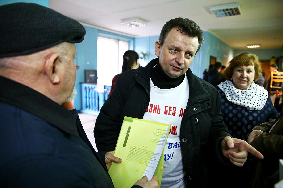 Григорий Грык ожидает судебное решение.
