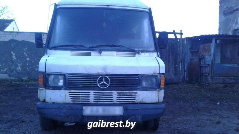 Авто задержанного. Фото: http://gaibrest.by