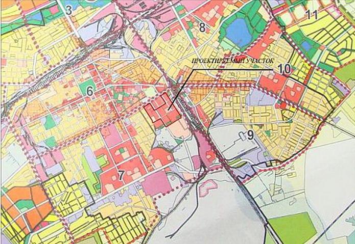 План района многоквартирной застройки по ул. Свердлова в г. Барановичи Фото: «Наш Край»