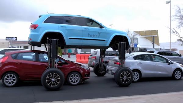 Автомобиль-трансформер показали вдействии на трассах США