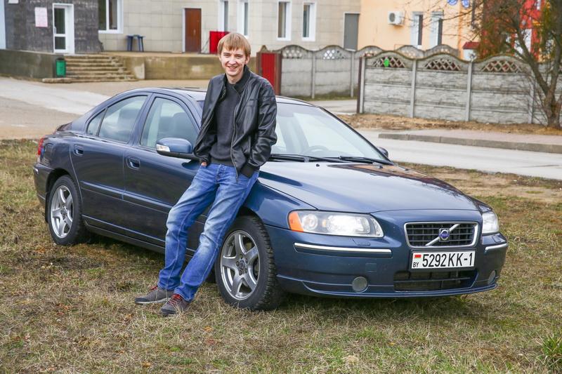 Владелец Volvo S60 Евгений Попко. Фото: Евгений ТИХАНОВИЧ, intex-press