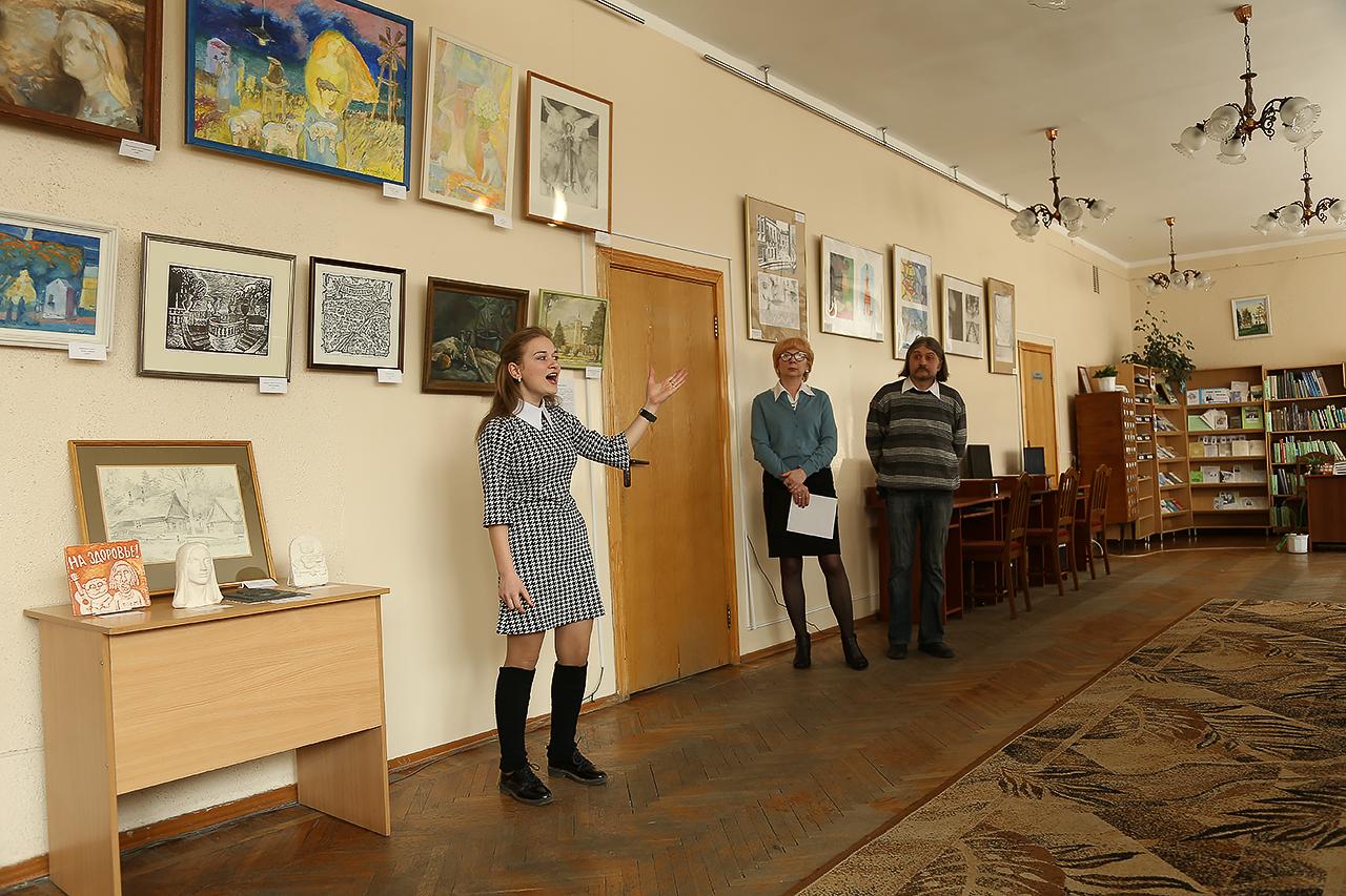 Валерия Мицкевич учащаяся Крошинской детской школы искусств.