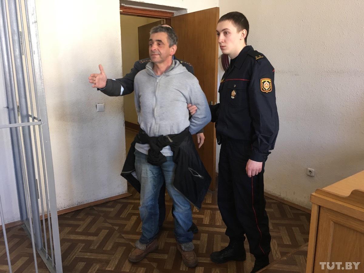 Леонид Кулаков в суде, фото: TUT.BY