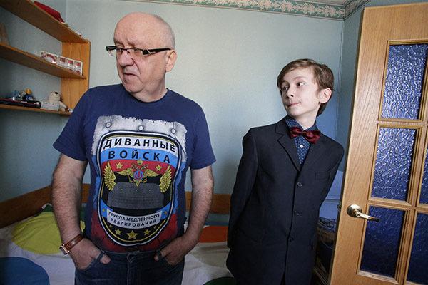 Леонид Заико со своим сыном. Фото: Анатолий Клещук.