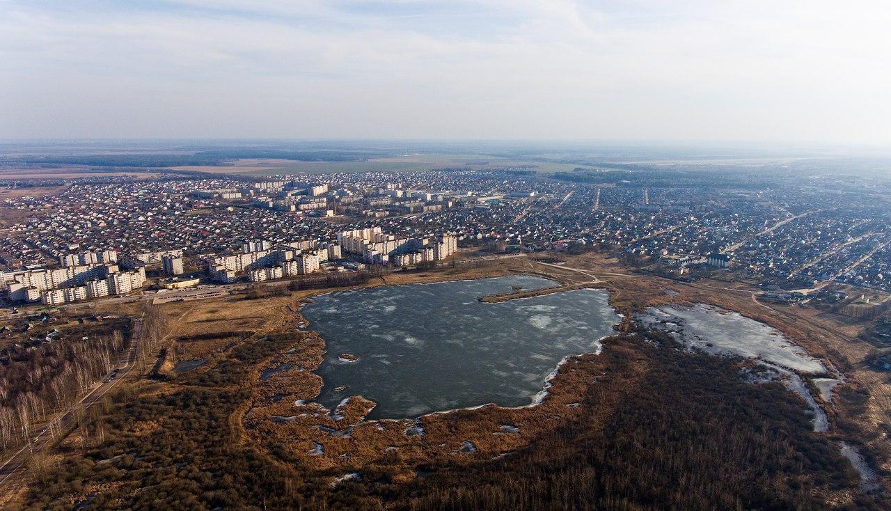 Жлобинское озеро, март 2017. Фото: архив Евгения МИХАНА