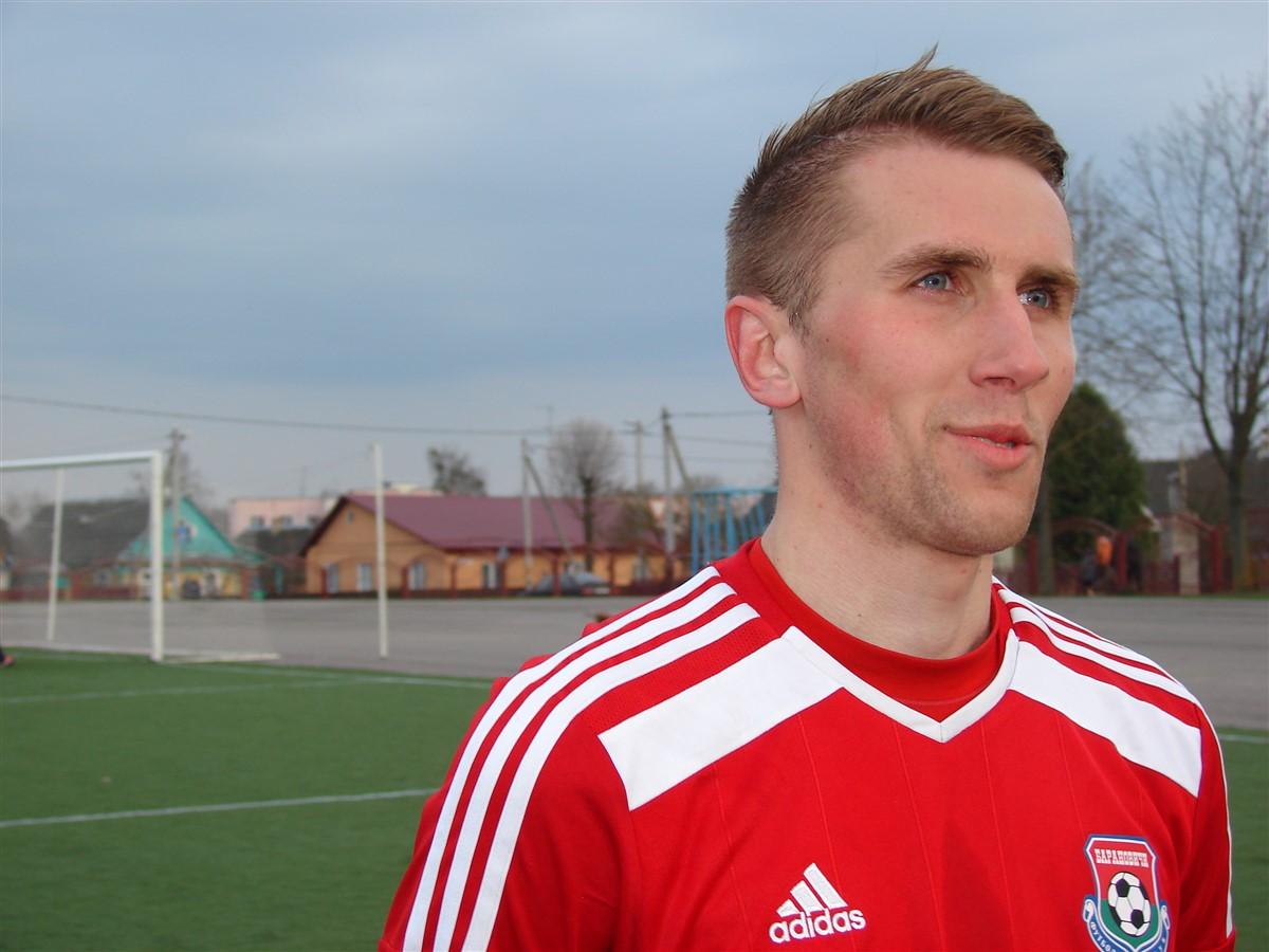 Денис Домашевич – автор победного мяча.