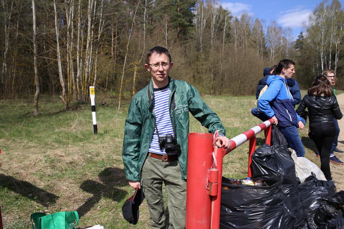 Владимир Зуев,  председатель эколого-краеведческого общественного объединения «Неруш».