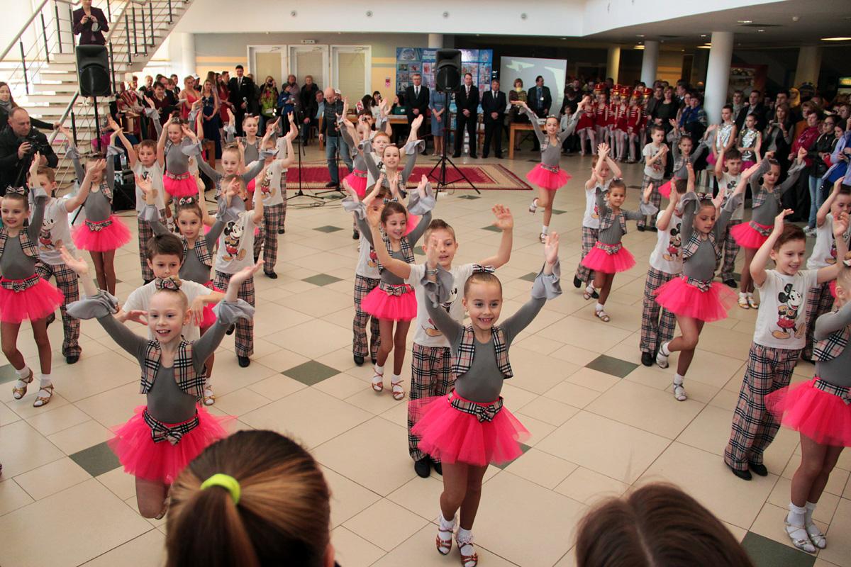 Выступление хореографических коллективов города
