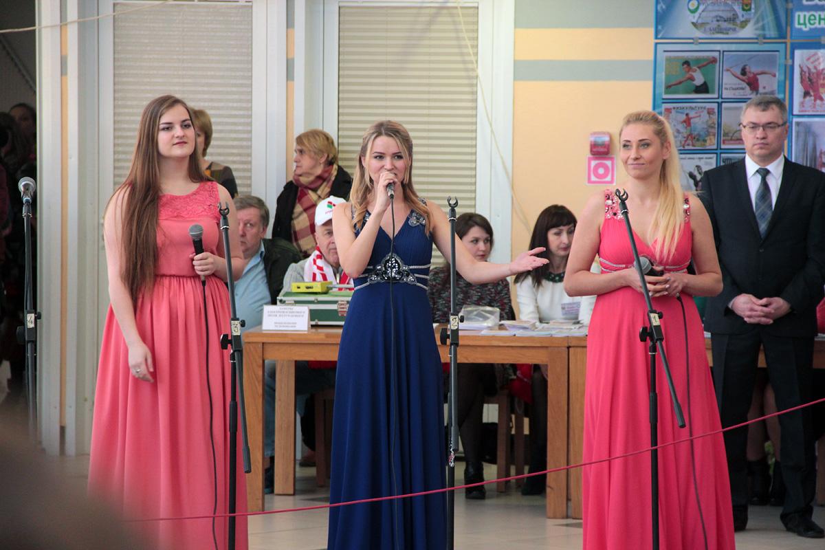 Выступление вокального коллектива