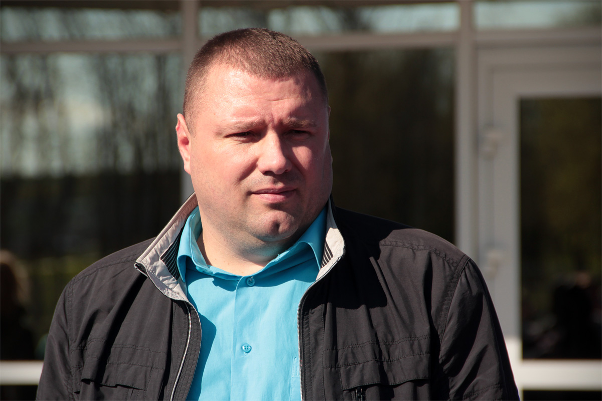 Директор СДЮШОР №2 Руслан Зубик.