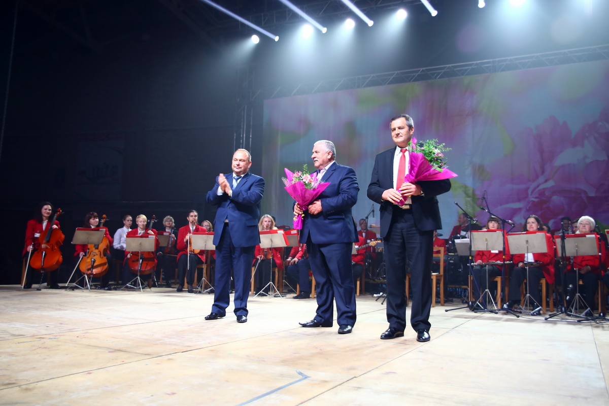 Юрий Громаковский, Владимир Пучко, Виктор Колосовский (слева направо).
