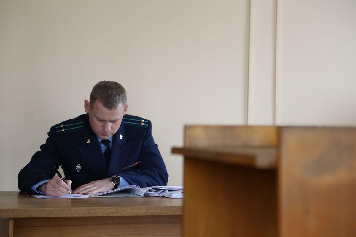 Гособвинитель Даниил Дерябин, Барановичский межрайонный прокурор