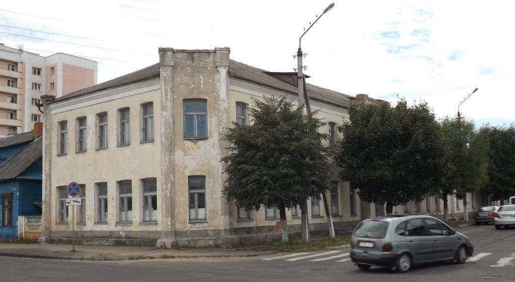 Здание бывшего УПК-1 наулице Гагарина. Фото: сайт brest-region.gov.by