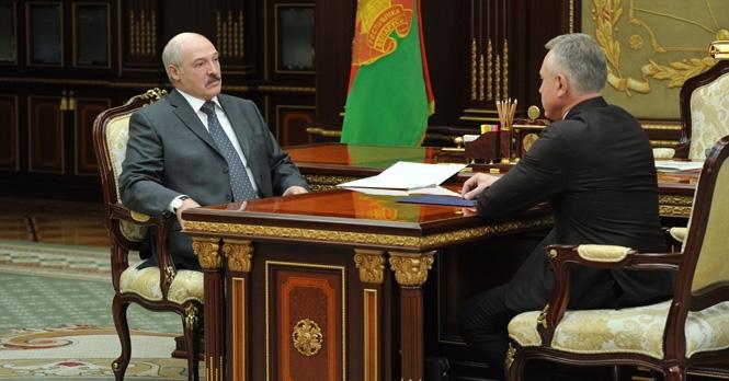 Александр Лукашенко и Михаил Орда Фото: president.gov.by
