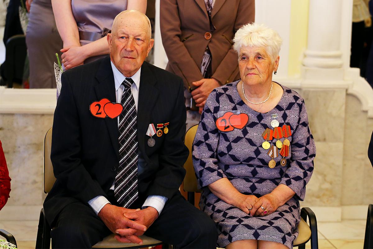 Михаил и Ольга Витко создали семью 50 лет назад.