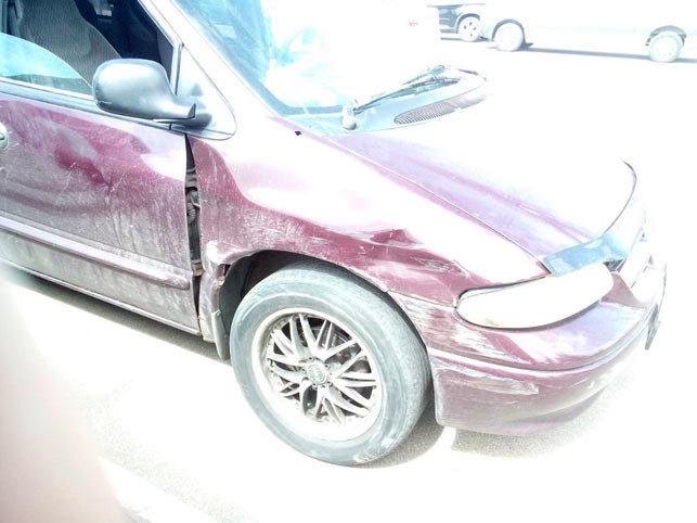 Поврежденный автомобиль. Фото: belta.by