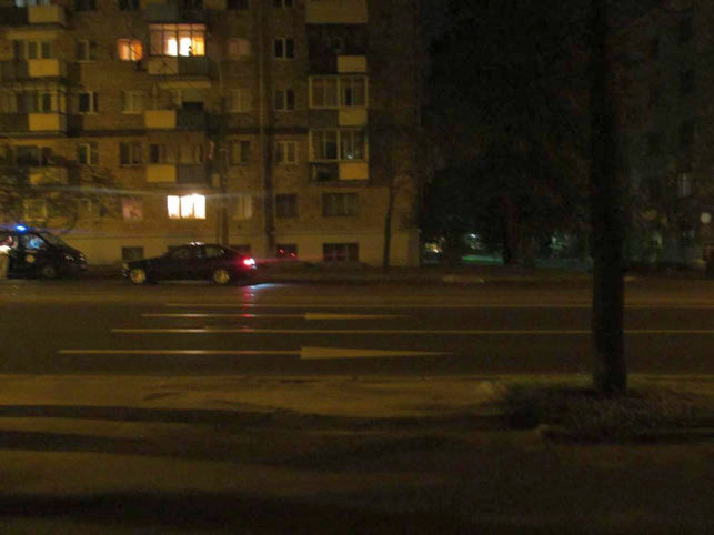 Место ДТП, Фото: ГАИ Советского района Минска