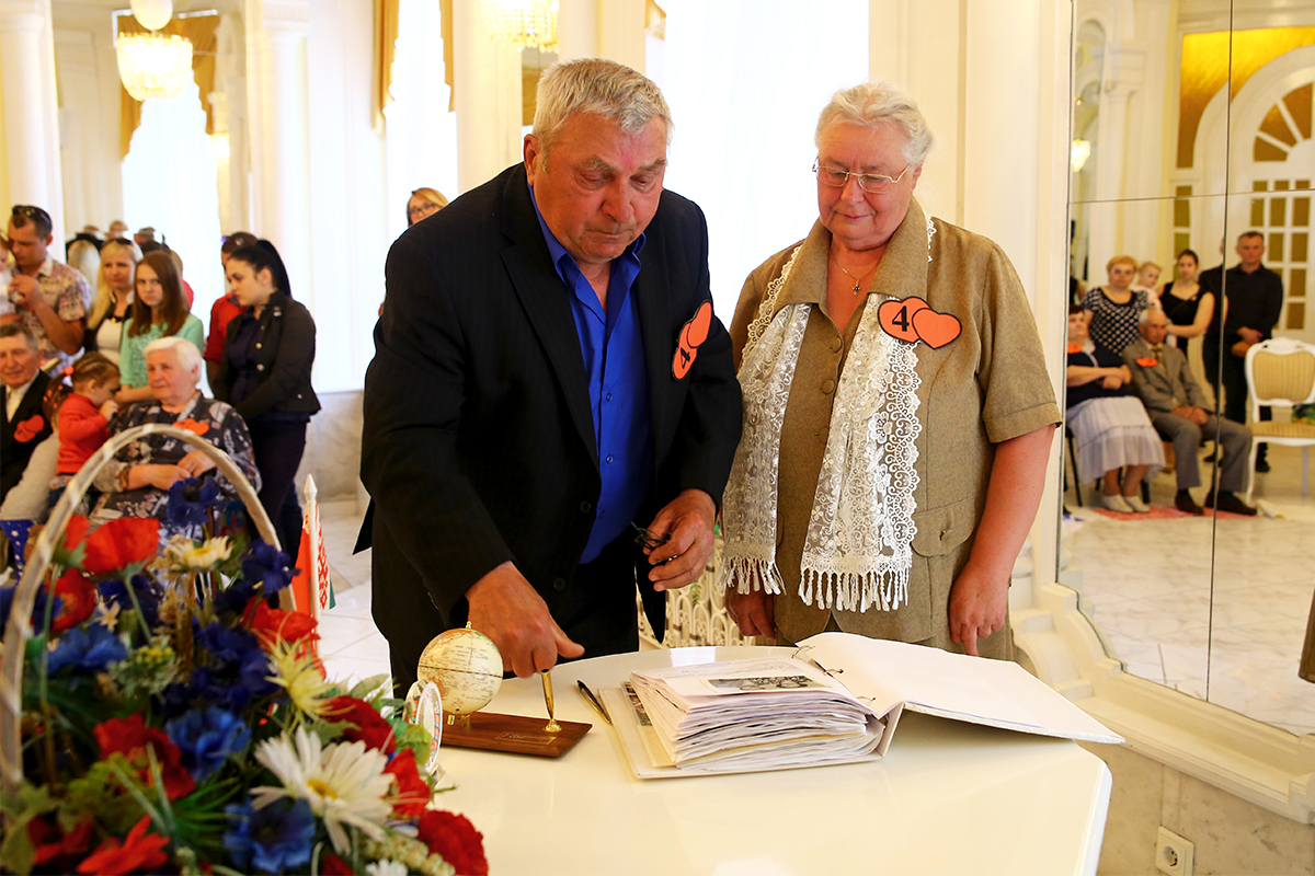 Михаил и Тамара Ярошук создали семью 51 год назад.