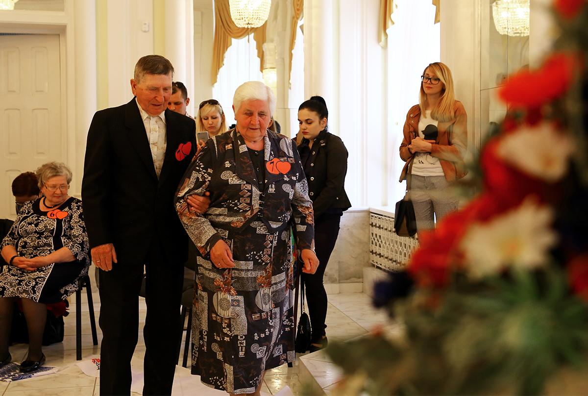 Елена и Георгий Ковалевские состоят в браке 57 лет.