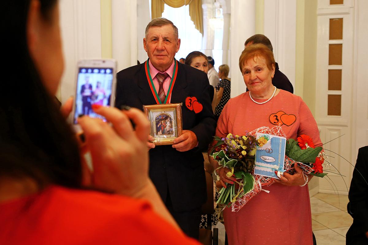 Николай и София Цуприянчик создали семью 59 лет назад.