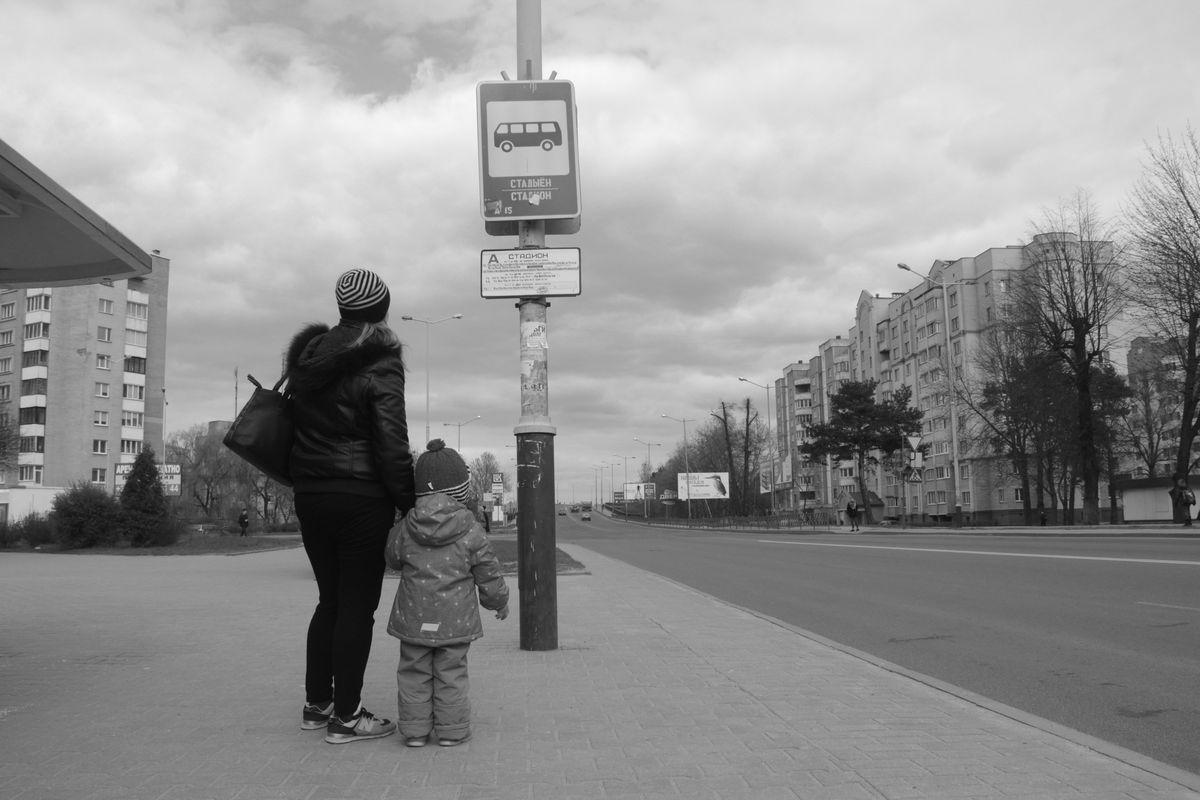 Ольга с дочерью. Фото Юрий ПИВОВАРЧИК