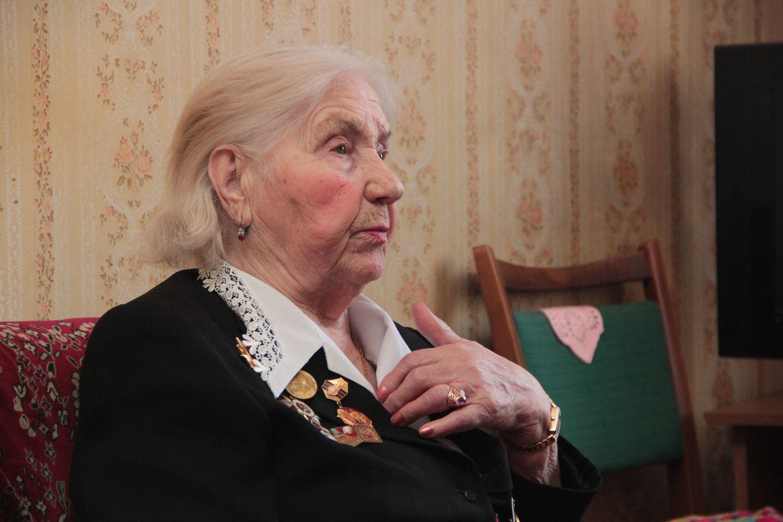 Любовь Алексеевна Черник – ветеран Великой Отечественной войны. Фото: Юрий ПИВОВАРЧИК