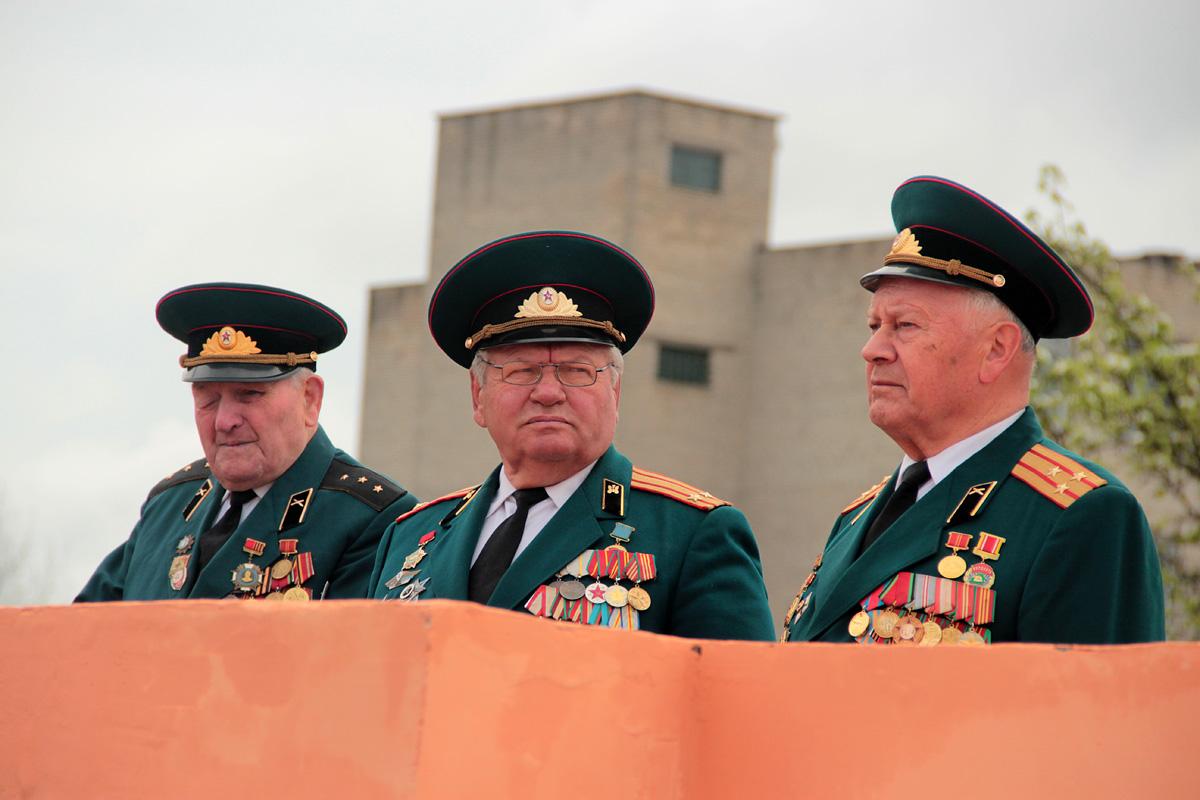 Ветераны Соловей Левицкий, Николай Шагун и Александр Манащук.
