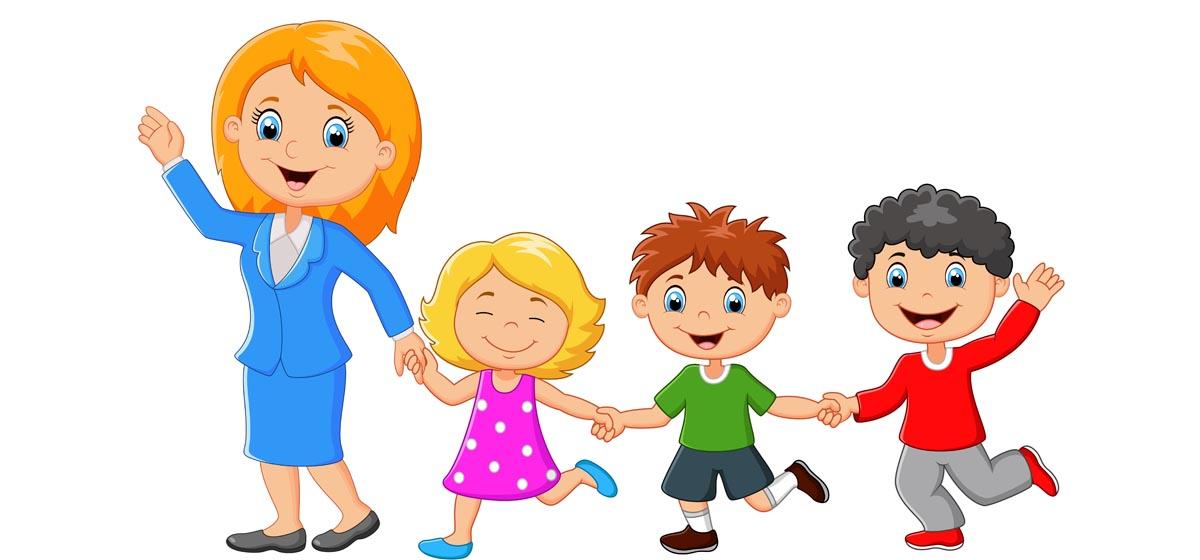 Картинки анимация воспитатель