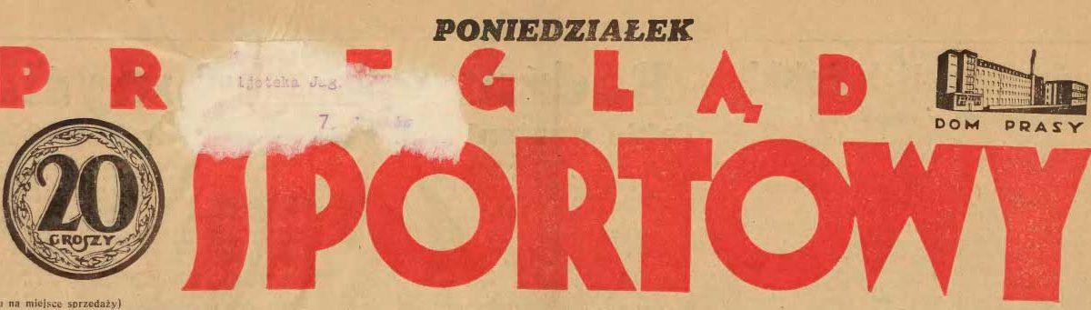 Журнал Przegląd Sportowy