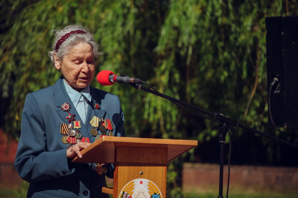 Ветеран Великой Отечественной войны, участница Сталинградской битвы Таисия Карасева.