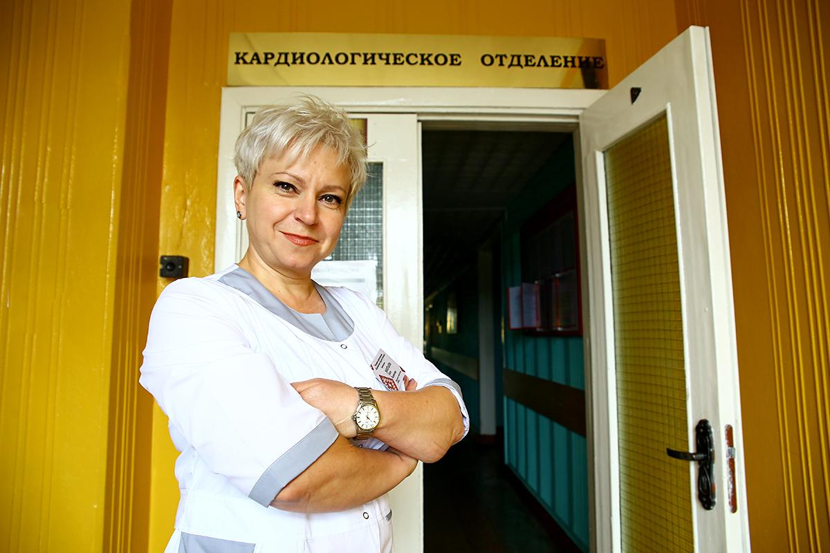 Ольга Маратканова работает врачом 16 лет.