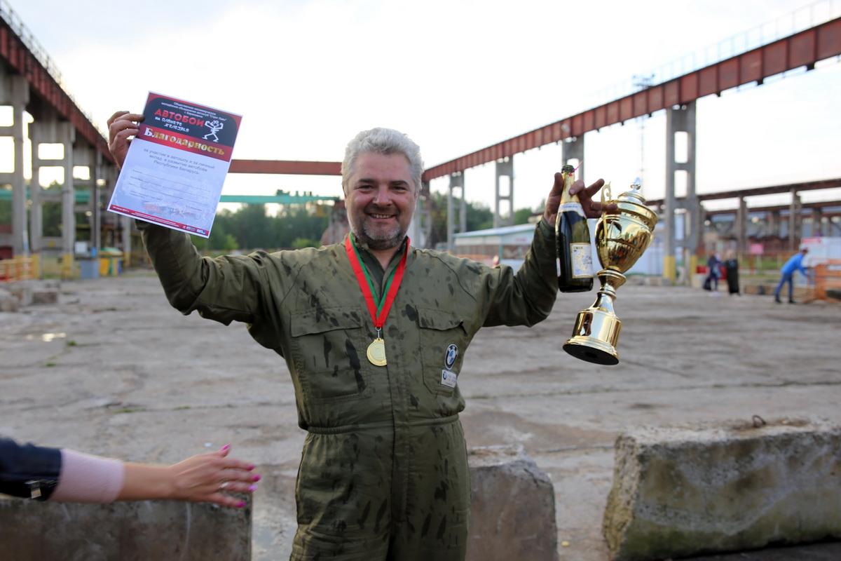 Главный приз в классе Unlim  завоевал Леонид Павлюченко из Баранович.