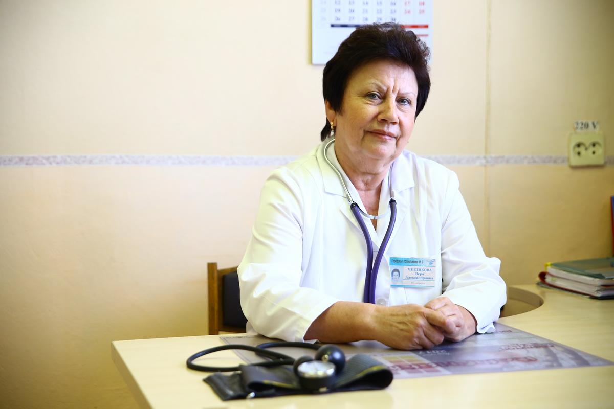 Врач-кардиоревматолог I категории Вера Чистякова. Фото: Евгений ТИХАНОВИЧ
