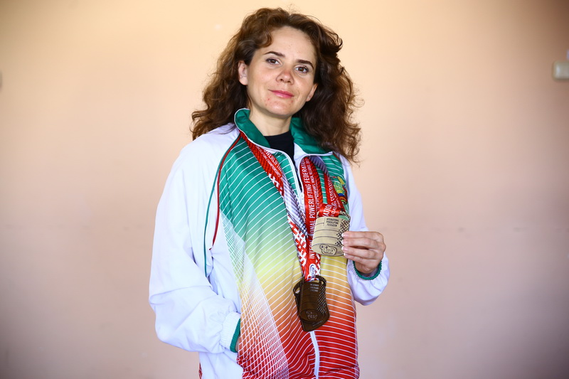 Людмила Исак чемпионка мира по классическому пауэрлифтингу. Фото: Евгений ТИХАНОВИЧ