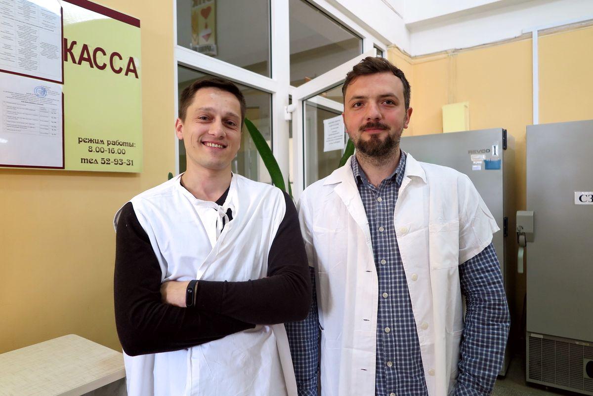 Александр Езепчик (слева) и Андрей Война.