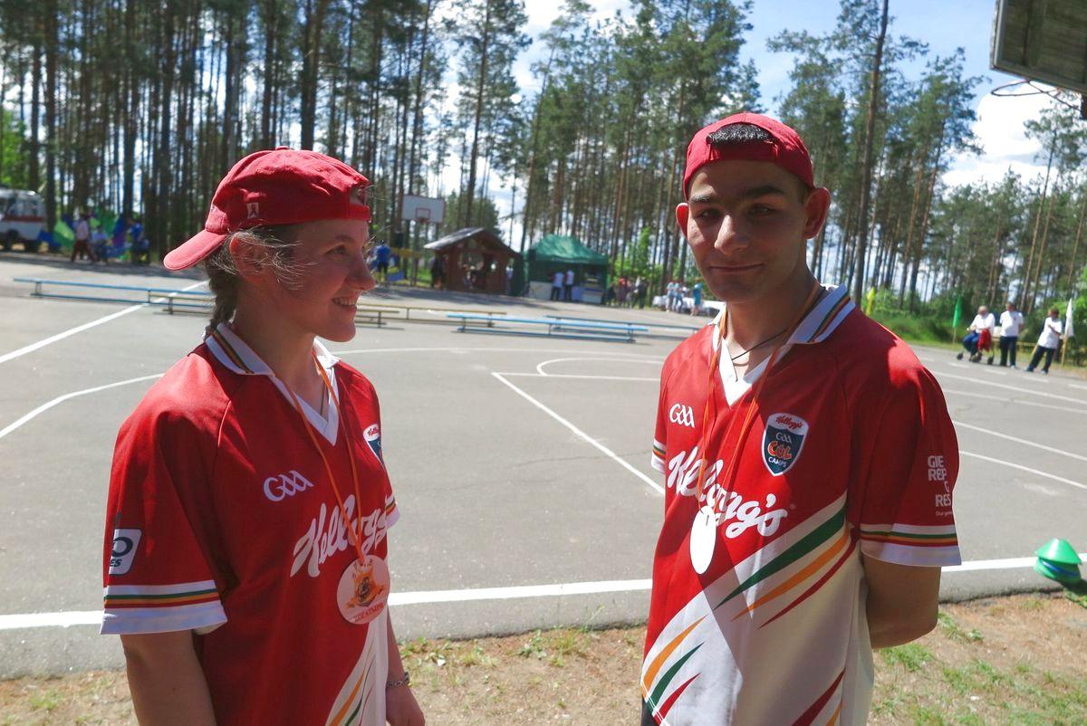 Лиза и Сергей.