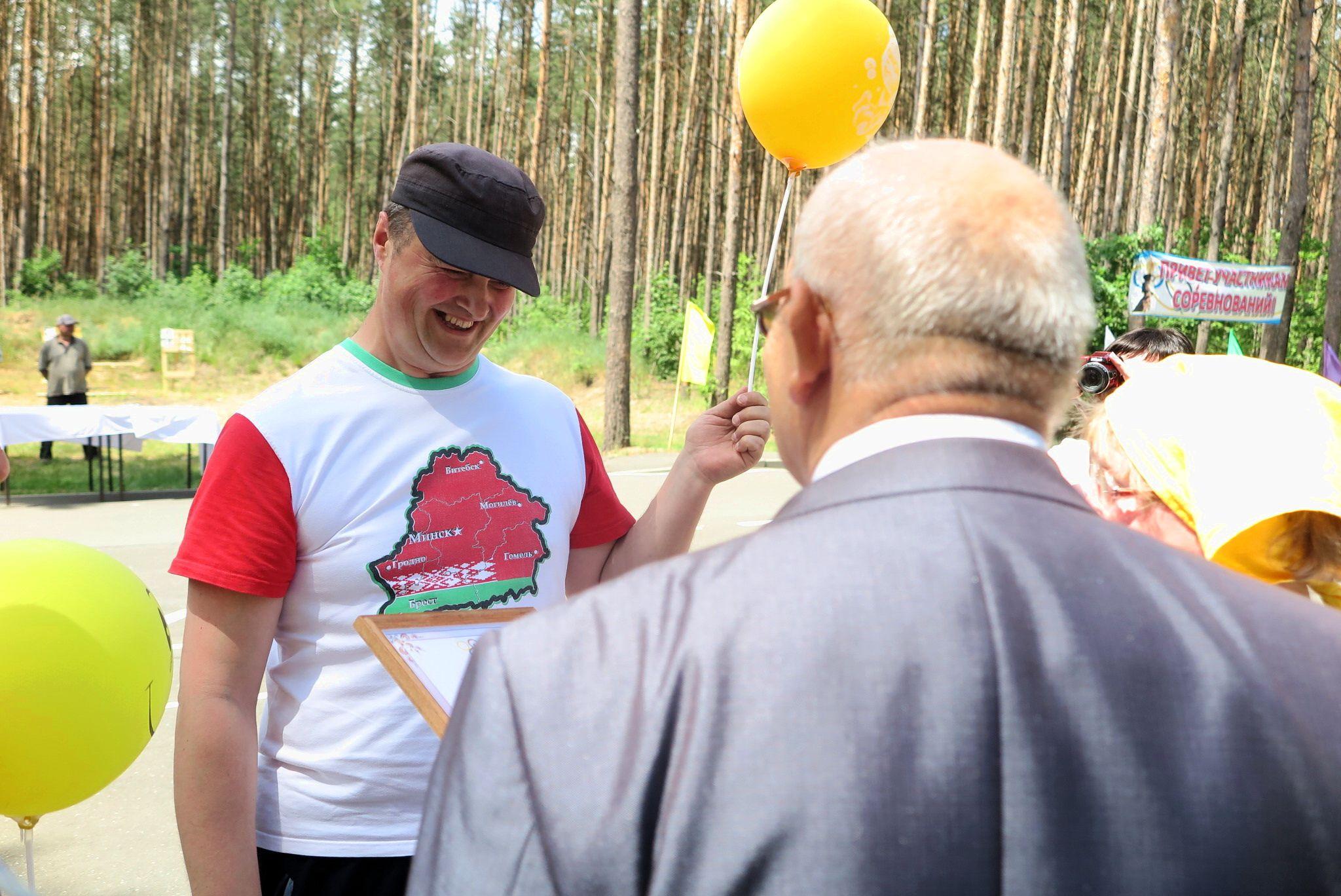 Третье место заняла команда «Буревестник» из Барановичского района.