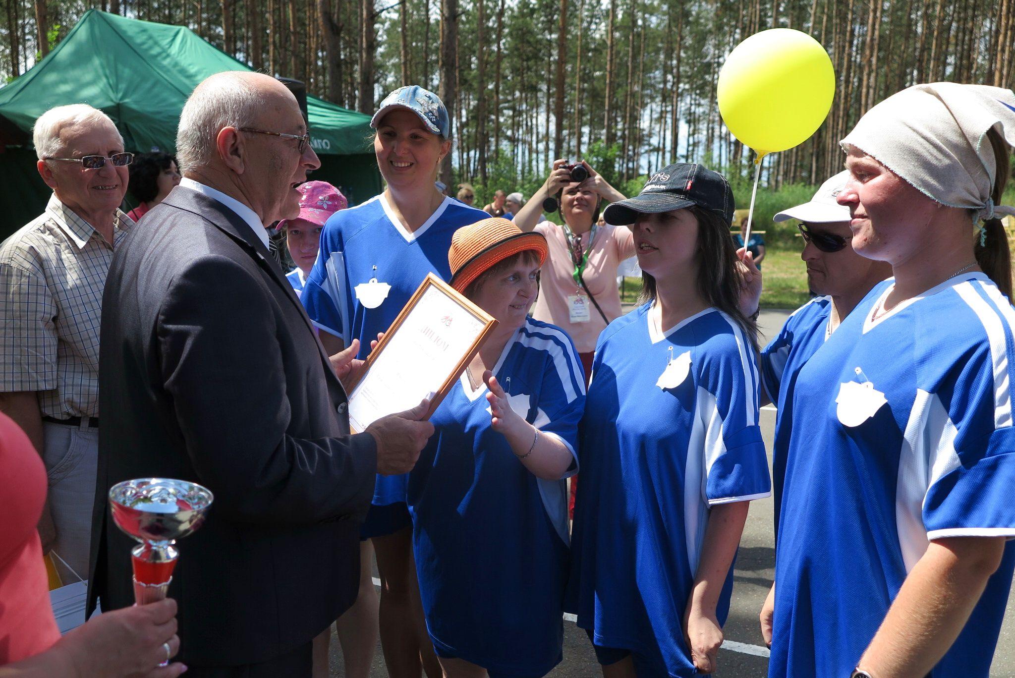 Второй стала команда «Пламя» Березовского района.