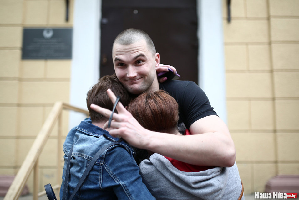 """Виктор Данилов, которого представляли одним из вожаков группировки. Фото: """"Наша Нiва"""""""