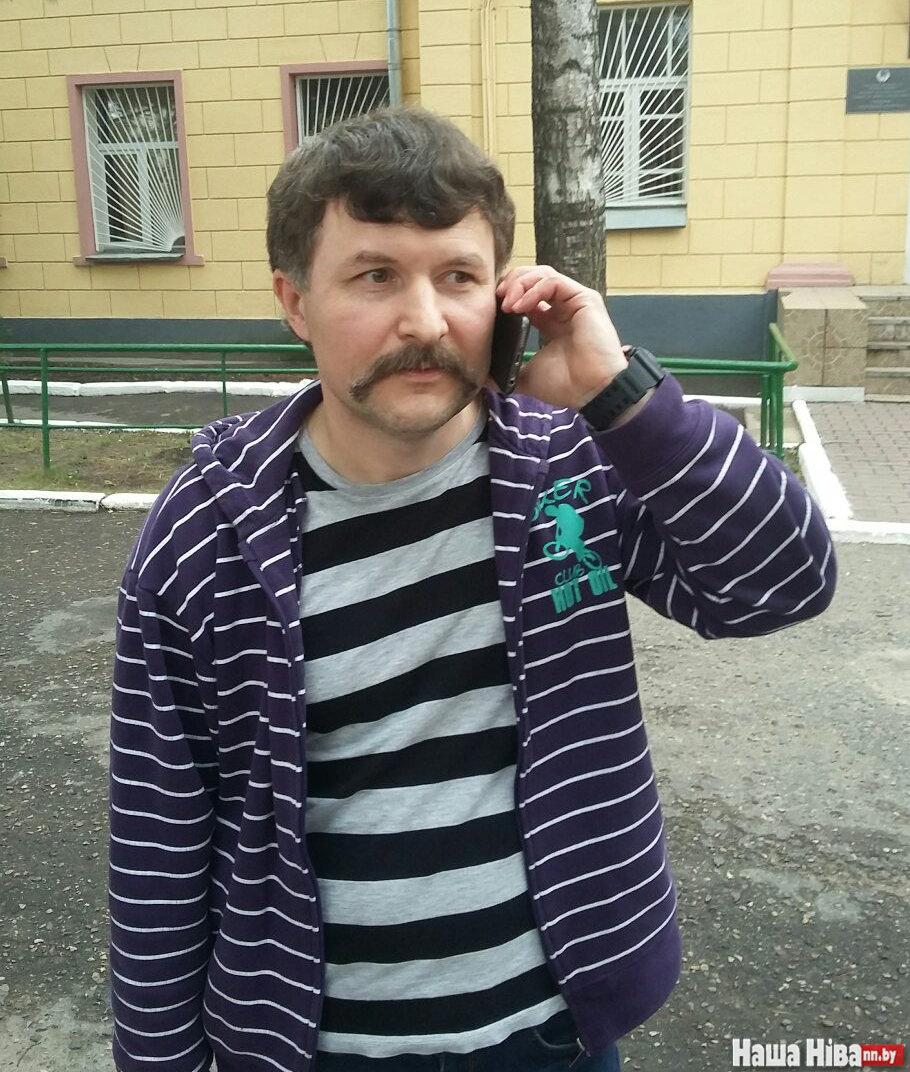 """Тимур Пашкевич: первые звонки близким. Фото: """"Наша Нiва"""""""