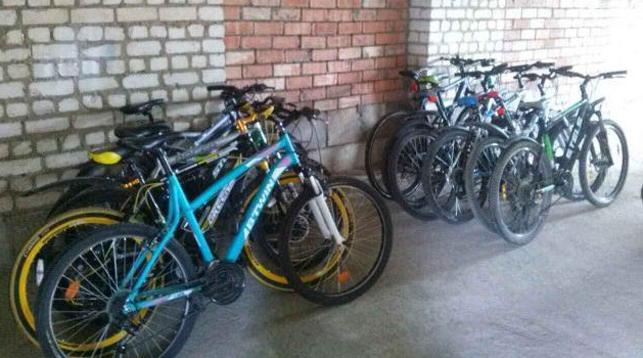 Похищенные велосипеды. Фото УВД Минского облисполкома