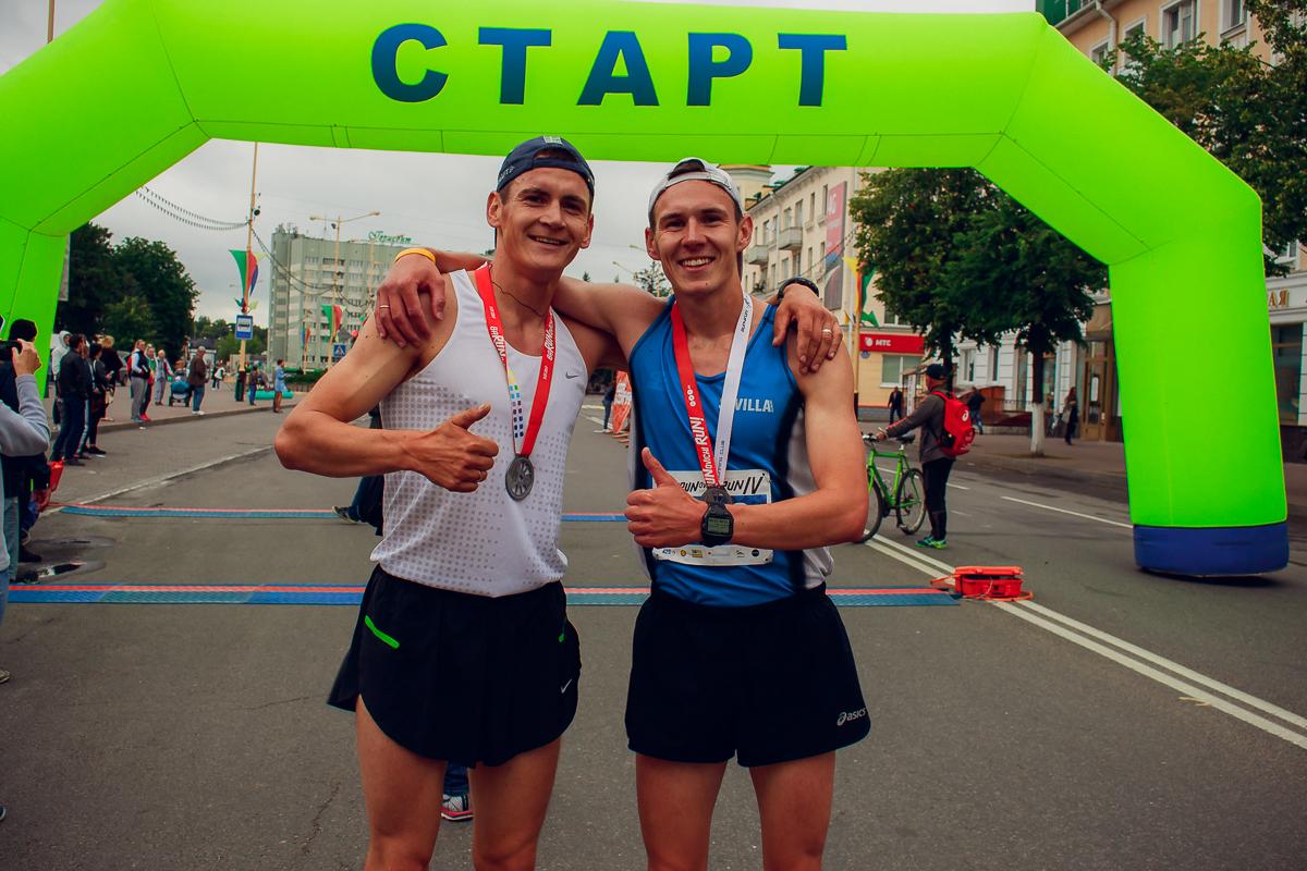 Первыми финишировали братья Михнюки.