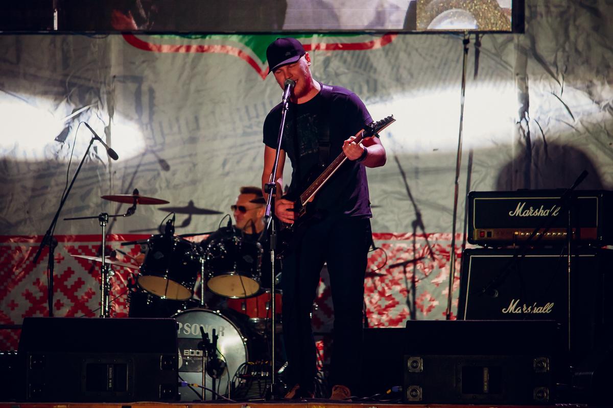 Выступление группы PAPAROKA в День Независимости.