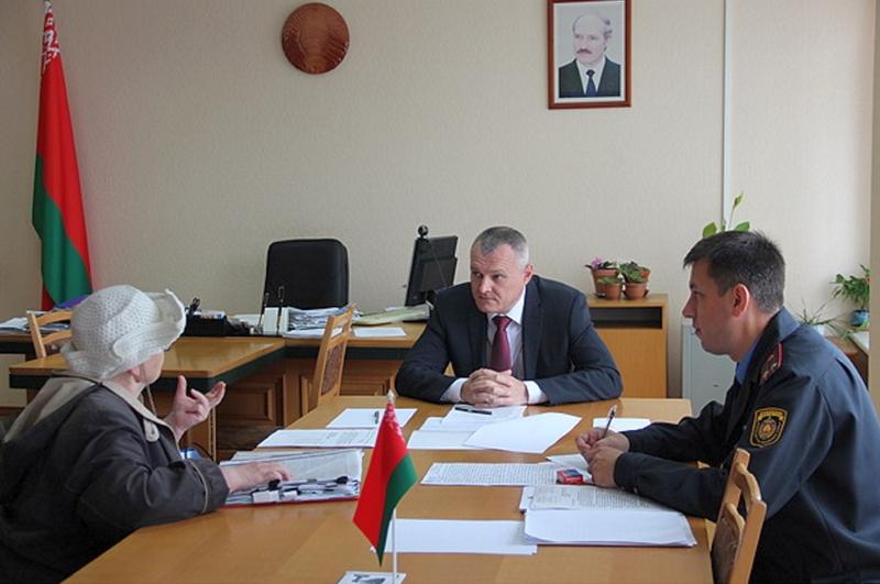 На встрече с Министром МВД. Фото: http://government.gov.by/