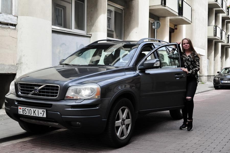 Владелица Volvo XC90 2007 года выпуска Татьяна Сакуть. Фото: Архив Татьяны САКУТЬ