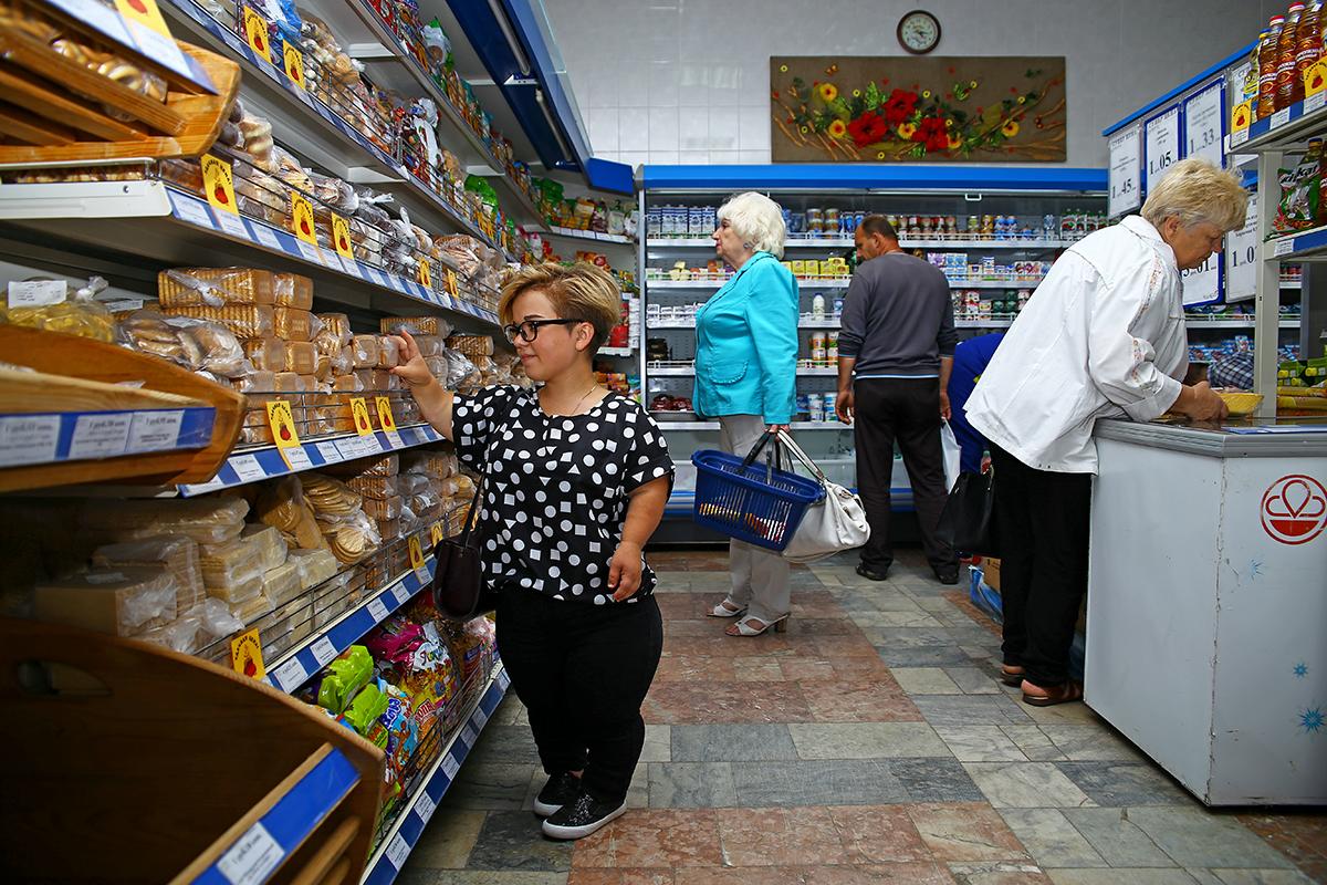 Из-за роста у Ирины возникают проблемы с покупками в магазинах.