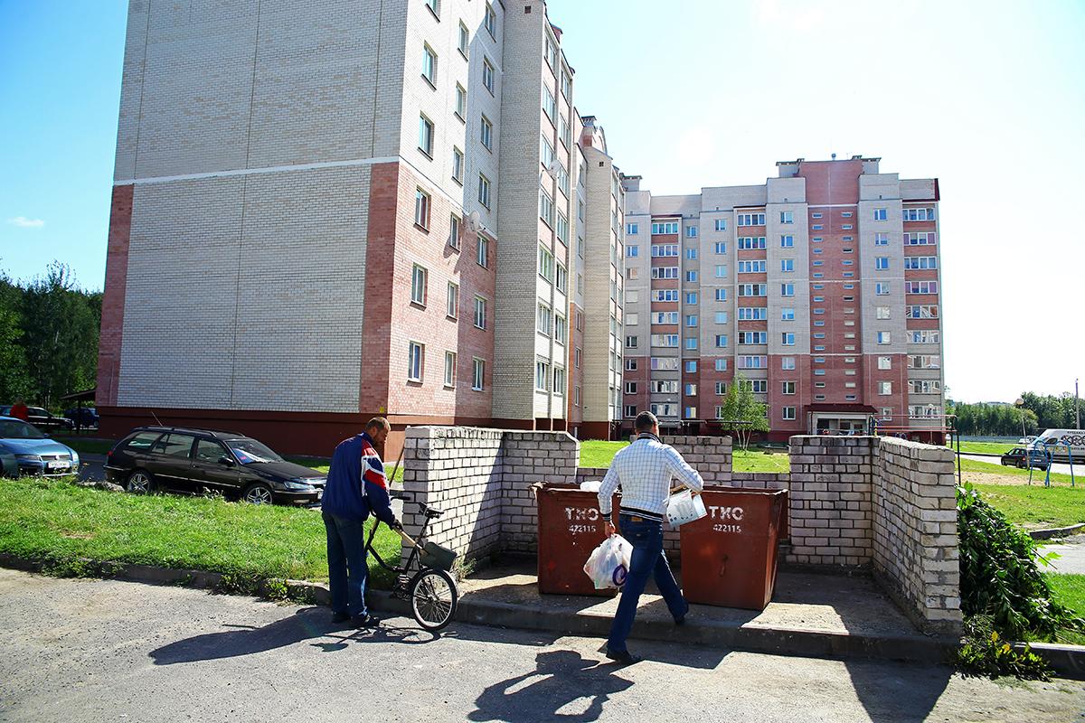 У жильцов дома №62, который находится по соседству, такая же проблема с осами.